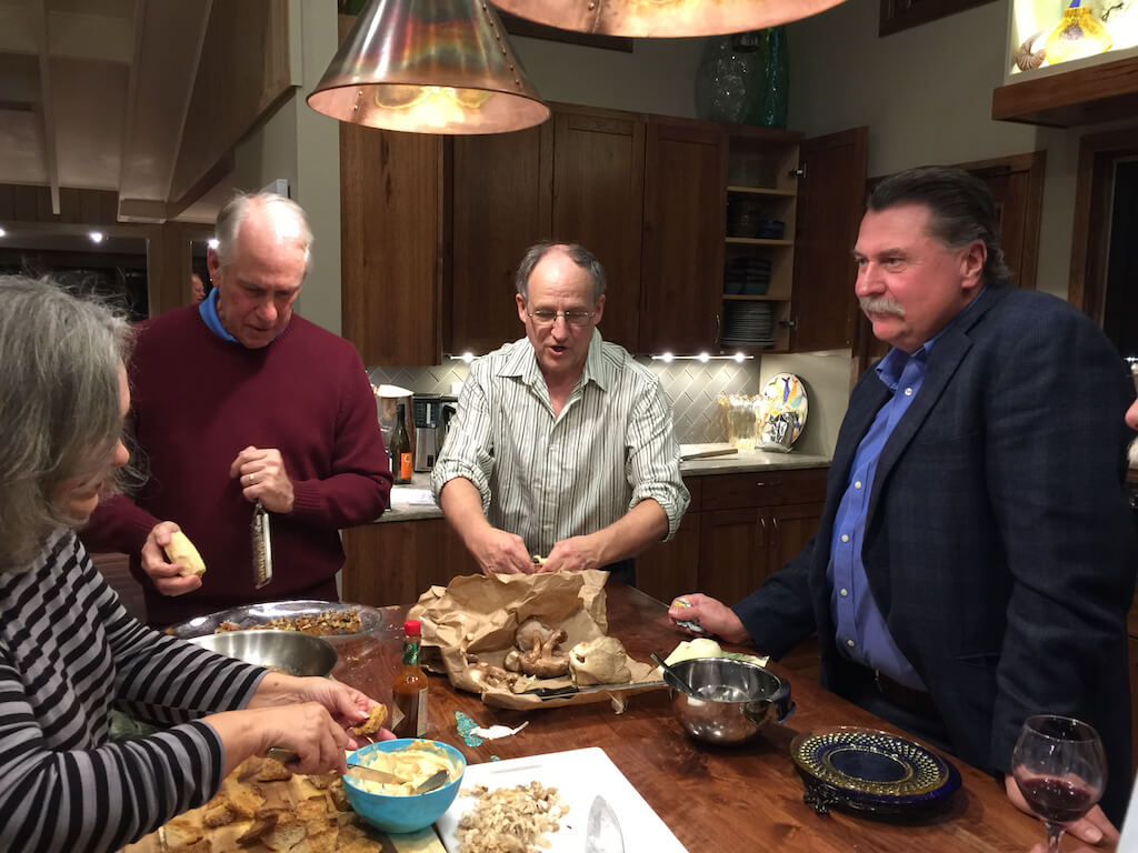 Cooking Demonstration for the Stonington Historical Society
